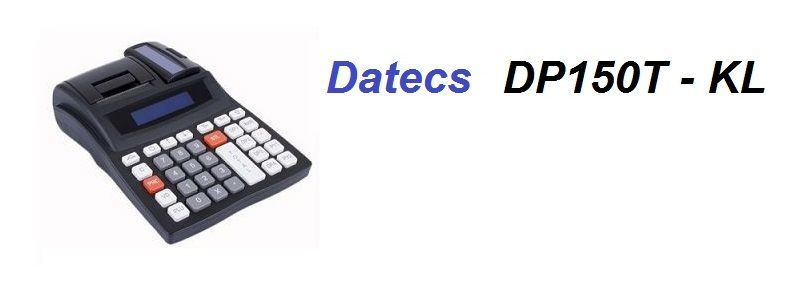 Касов апарат Datecs DP 150T - KL